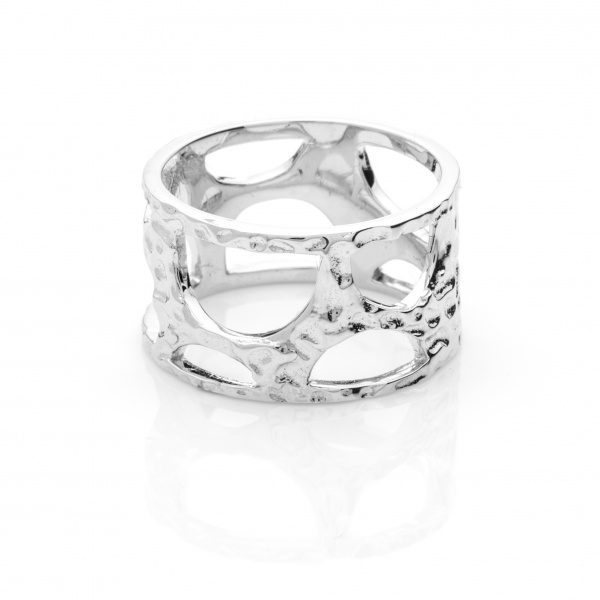Molten Band Ring - Size P
