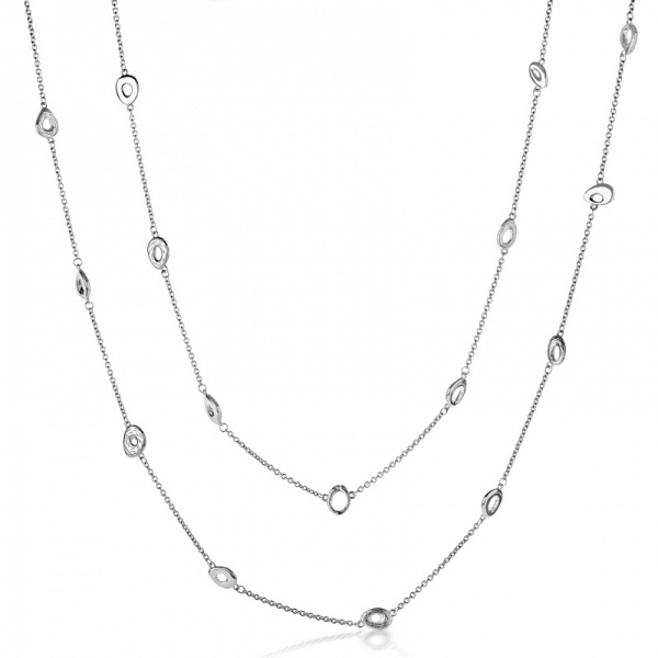 Ocean Long Line charm necklace 40 inches