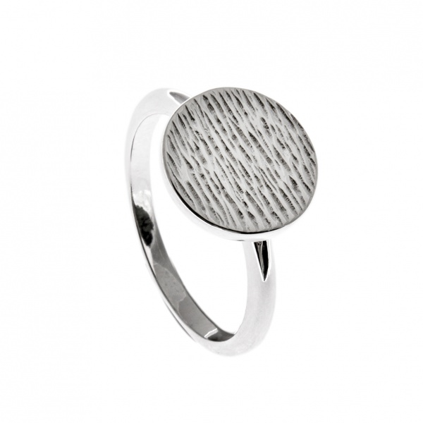 Ocean Mini Disc Ring Size N