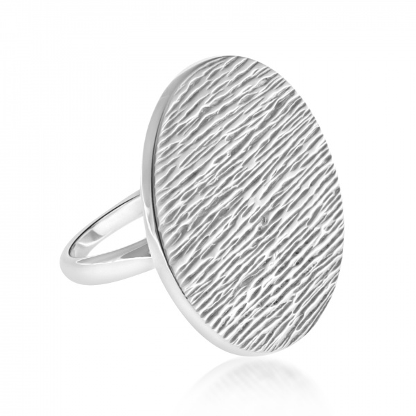 Ocean Large Disc Ring Size P