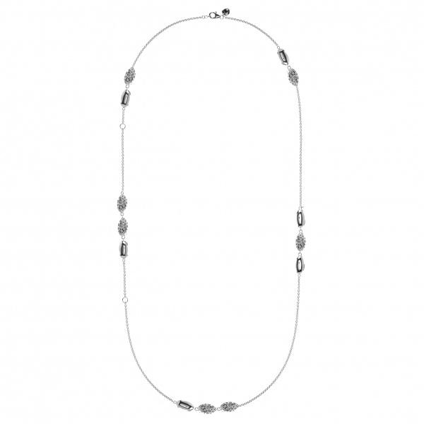 Pebble Multi Charm Necklace