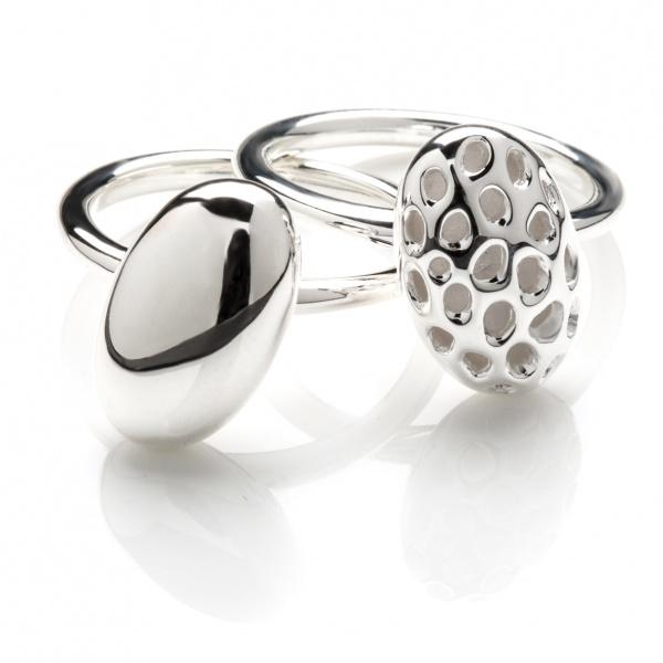 Pebble Plain Ring