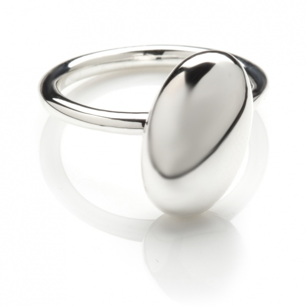 Pebble Plain Ring