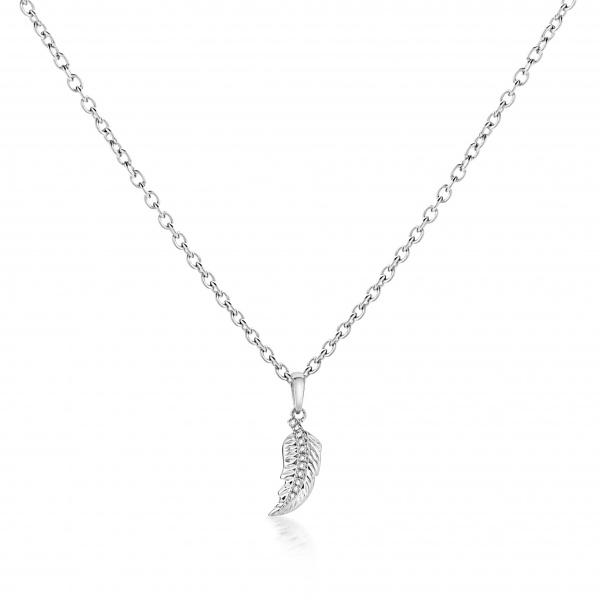 Plume ocean Diamond Pendant
