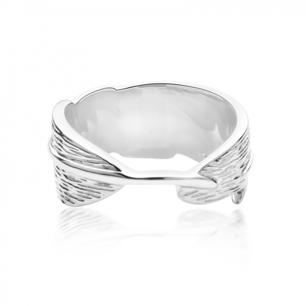 Plume Ocean Band Ring - Size L
