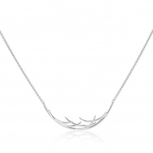 Molto Ice Collar Necklace Diamonds