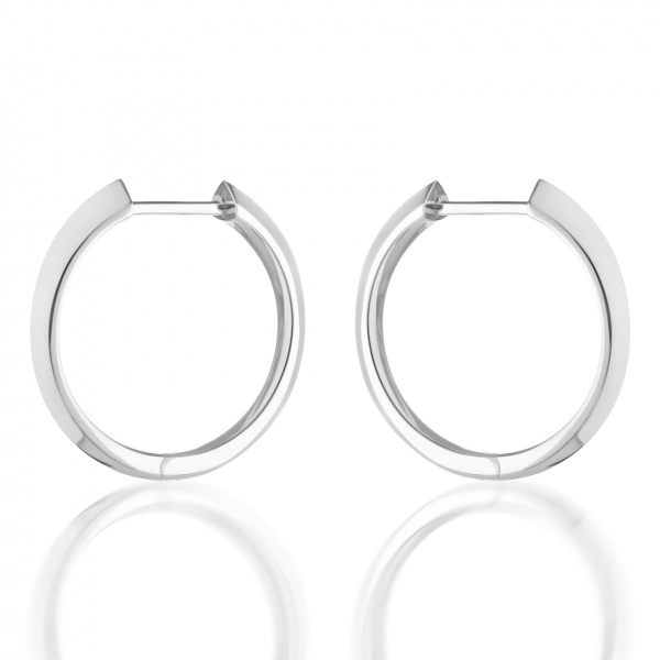 Surf Large Hoop Earrings