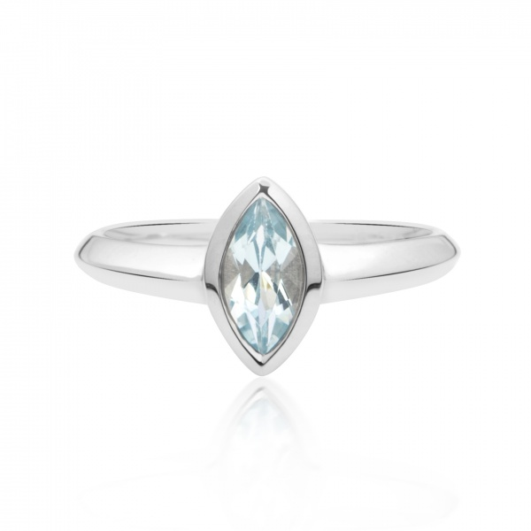Surf Topaz Ring L