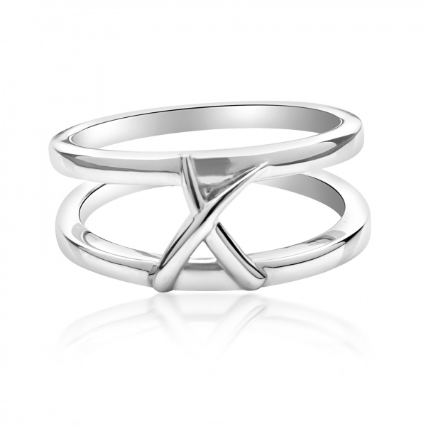 Molto Kiss Double Ring Size N