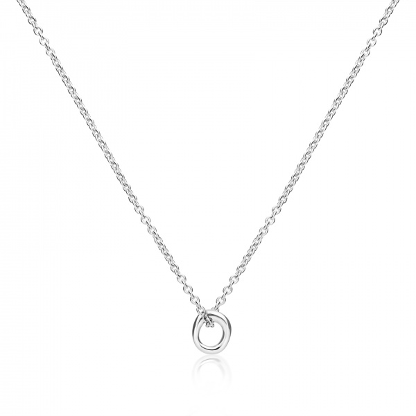 Ocean Loop Plain polished pendant