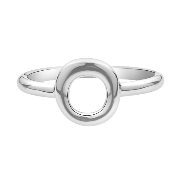 Ocean Loop Plain Ring Size P