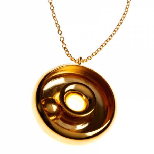 18ct Gold Ananta Pendant