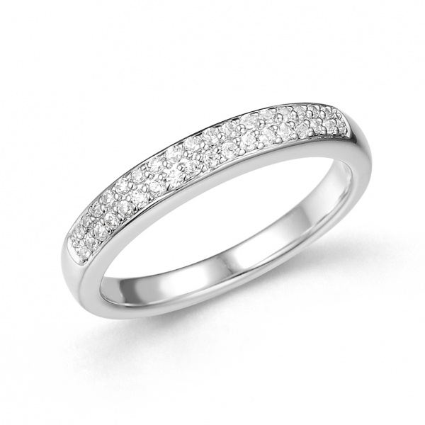 Double Half Eternity Ring