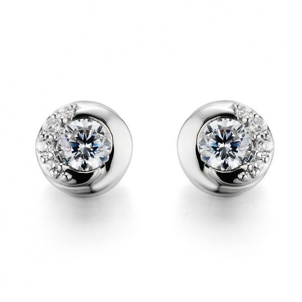 Snowdrop Stud Earrings