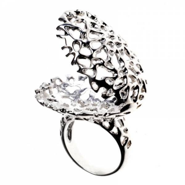 Pebble Locket Ring Size P