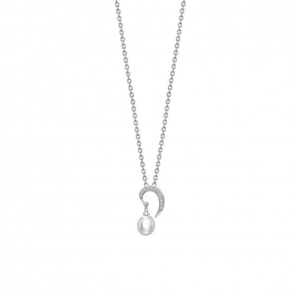 Snowdrop Pearl Pendant