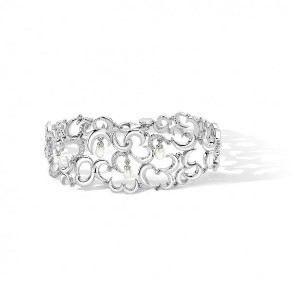Snowdrop Cuff Bracelet