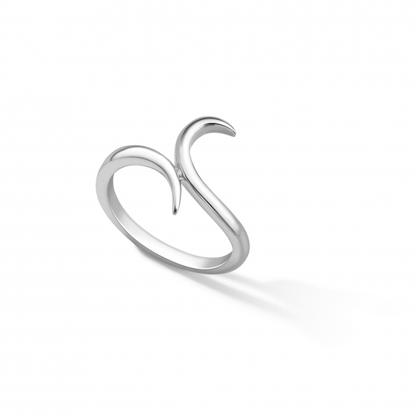 Snowdrop Plain Ring Silver