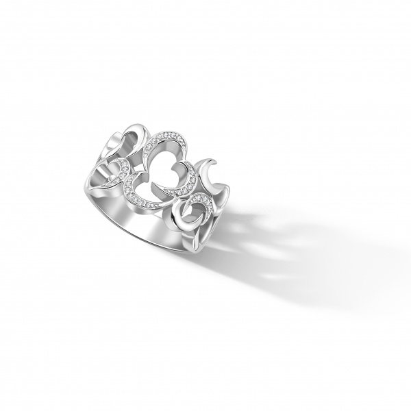 Snowdrop Band Ring