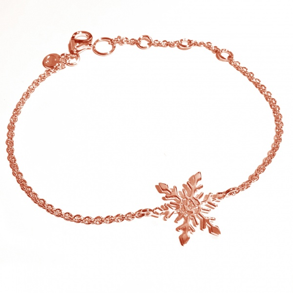 Snowflake Bracelet Rose
