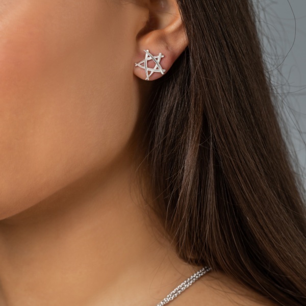 Molto Star Stud Earrings