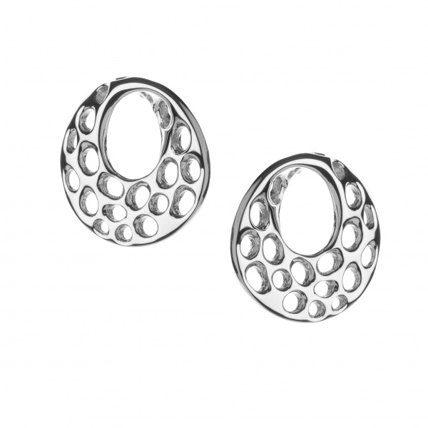 Warp Stud Earrings