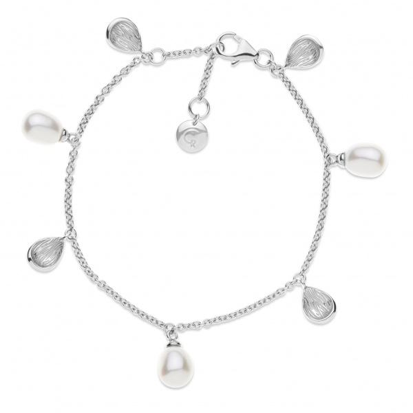 Warp Ocean Pearl Bracelet